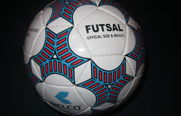 Futsal ball size 4 Match quality (Blue/Red)