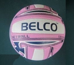 Legend Netball size 5 (Pink/white)
