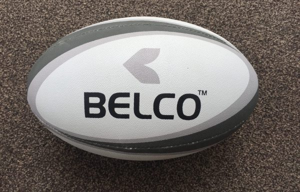 Rugby ball size 4 (Grey)