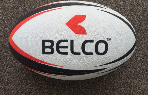 Rugby ball size 4 (Red