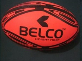 Rugby ball Knight Rider size 5 (Orange)