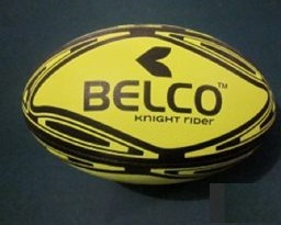 Rugby ball Knight Rider size 5 (Yellow)