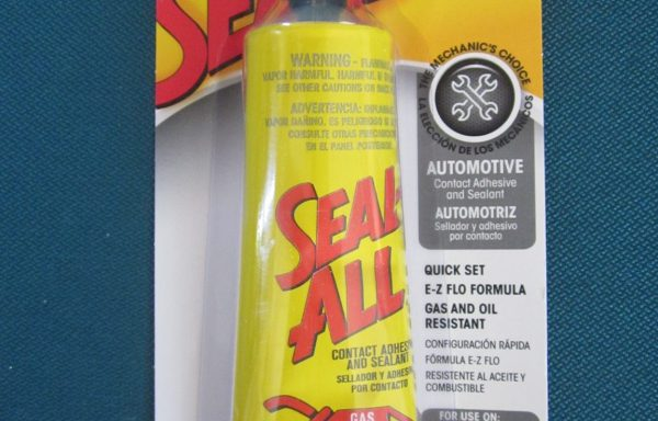 Seal All Automotive Contact adhesive and sealant Gasoline and oil resistant 2 oz