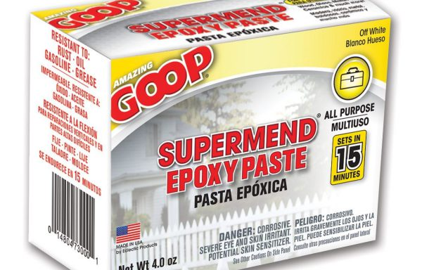 Amazing Goop Supermend Epoxy Paste 4 oz kit