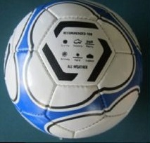 Soccerball size 4 Synergy (Blue)