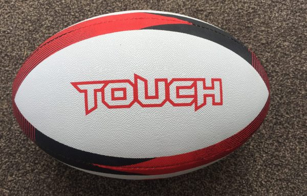 Touch Rugby Ball (Red)