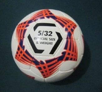 Soccerball size 5 Tycoon match quality (Red/Blue)