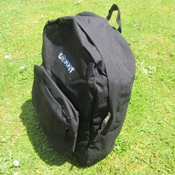 Kommit backpack (Black)