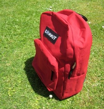 Kommit backpack (Red)